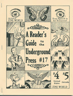 A Reader's Guide to the Underground Press No.17 - Click to view larger image.